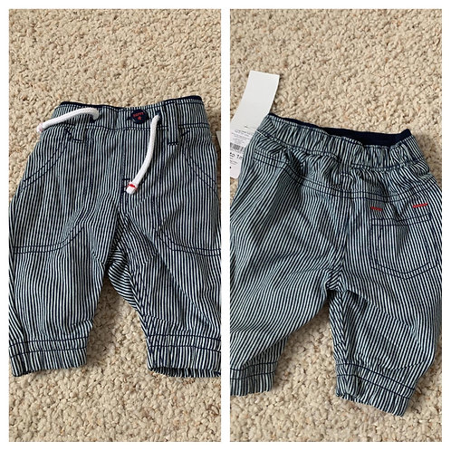 BNWT boys Stripe Jeans -  Up to 1 Month