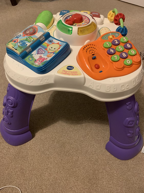 V-tech play and learn activity table