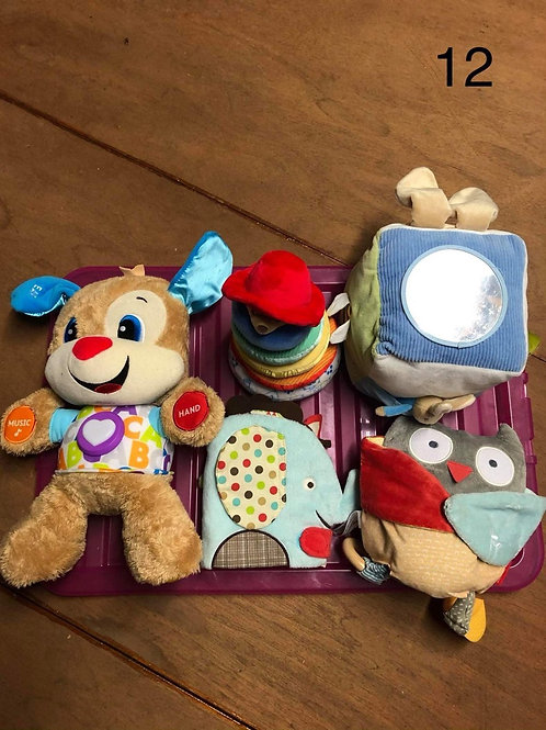 Baby soft toys bundle - 5 separate toys