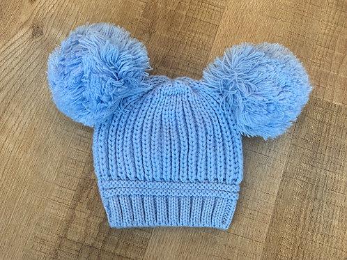 Boys blue hat 0-6m