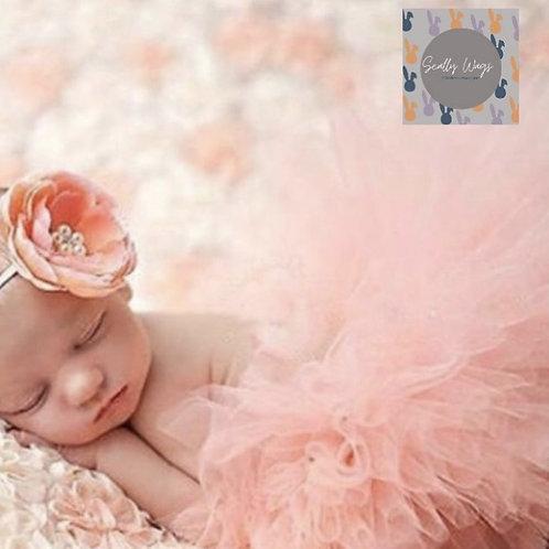 Pink Tutu and headband Newborn NEW