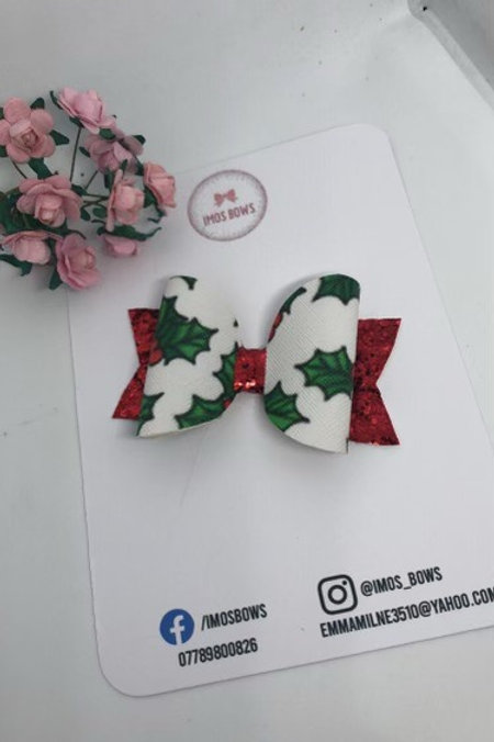 Red green holly