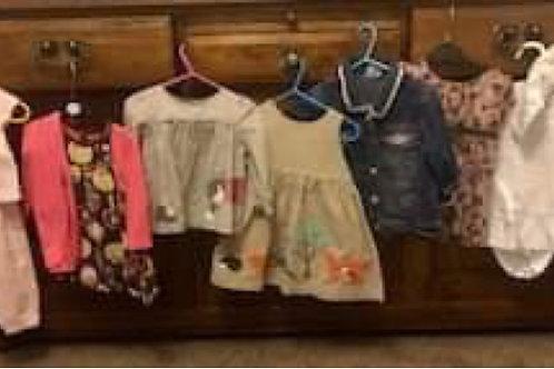 Girls Clothes Bundle 6-9 Baby Boden, Next, Zara, George, Nutmeg,