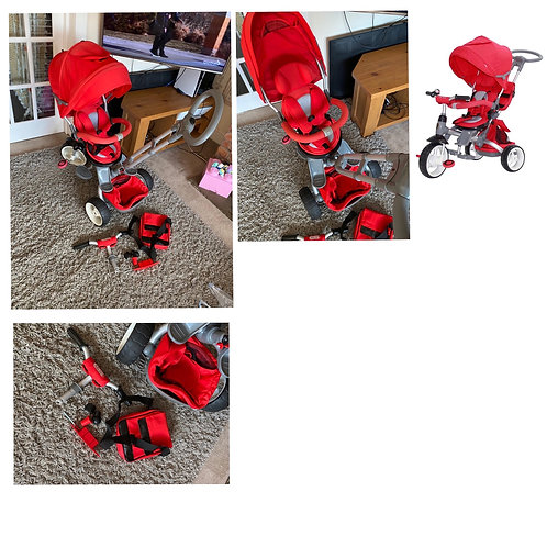 Little tiger modi trike red - Collection Only M38
