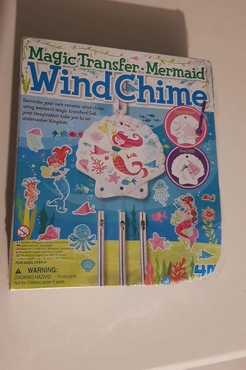 Magic transfer mermaid wind chime Brand new
