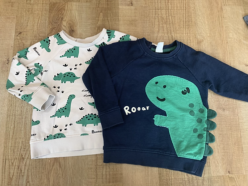 Boys H&M jumpers 18-24m