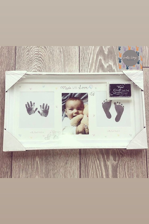 Foot and Handprint frame - NEW