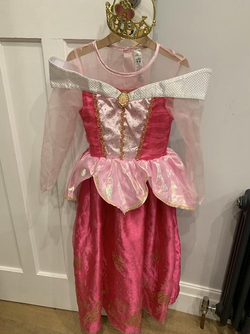 Sleeping beauty costume 7-8y