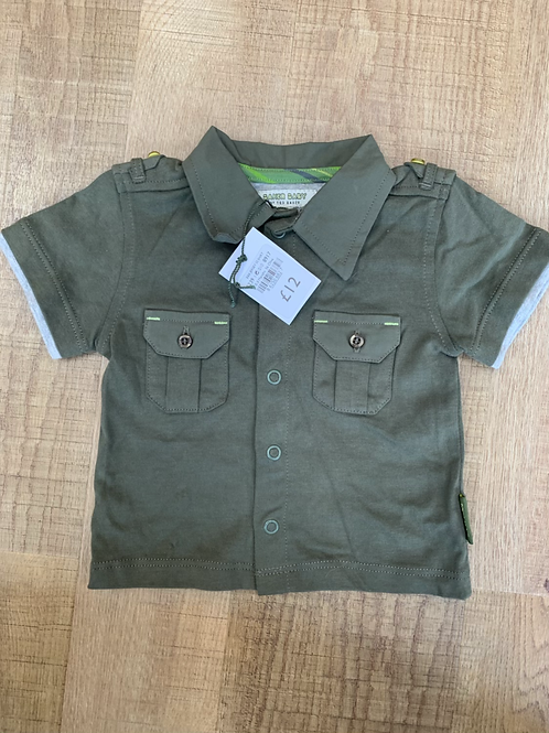Boys Ted Baker top Brand New 0-3m