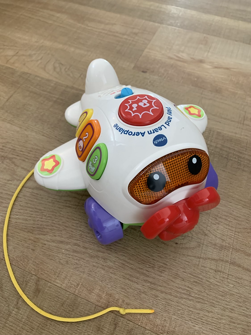 V-tech play and learn aeroplane