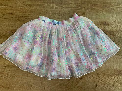 Girls sparkly F&F skirt 5-6y