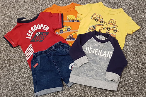 12 months bundle - GAP Timberland  Lee Cooper