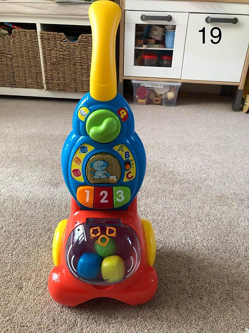Vtech counting colours vacuum - Collection Only BL4