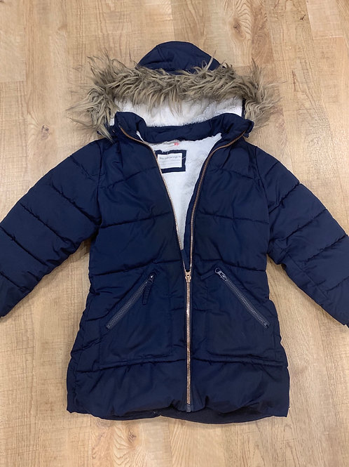 Girls Navy John Lewis Coat 7y