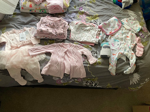 New born bundle set up to 1 month old