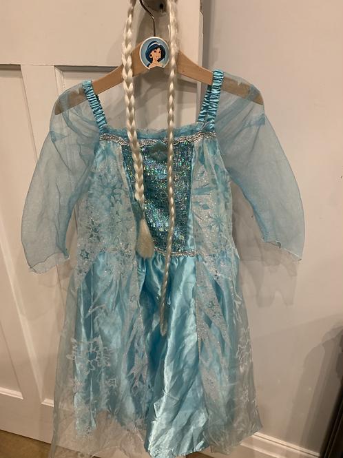 Elsa costume 5-6y