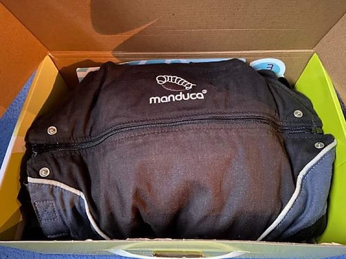 Manduca Baby Carrier	Complete with baby insert and strap covers