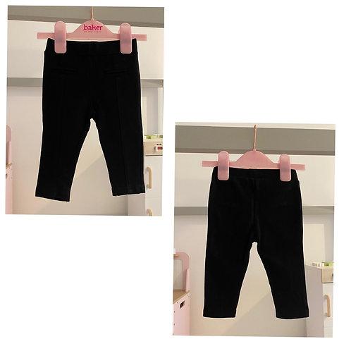 Mothercare black leggings 6/9m