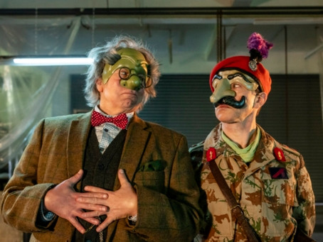 Inside No9 Series 6 - Episode 1 Wuthering Heist...on tonight 2130
