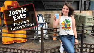 Drinking My Breakfast at Star Wars Galaxy's Edge