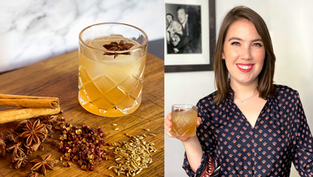Chinese 5 Spice Bourbon Cocktail