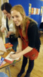 Elizabeth Reapy signing Red Dirt Books@One Festival Louisburgh