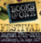 BOOKS@ONE FESTIVAL August 17th to 20th 2017
