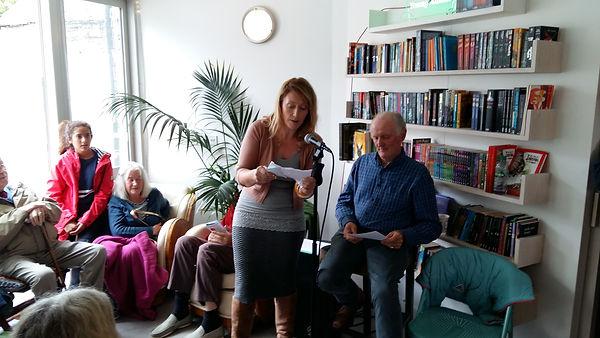 Kieran Cooke Books@One Festival Louisburgh