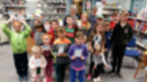 Amanda Bell & Fans Louisburgh Library Books@One Festival