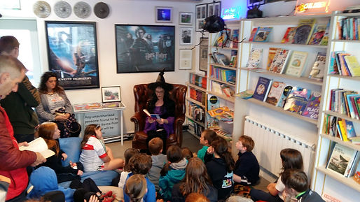 Harry Potter Story time Books@One Festival Louisburgh