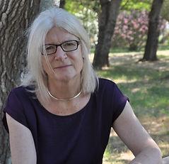 Poet Geraldine Mitchell