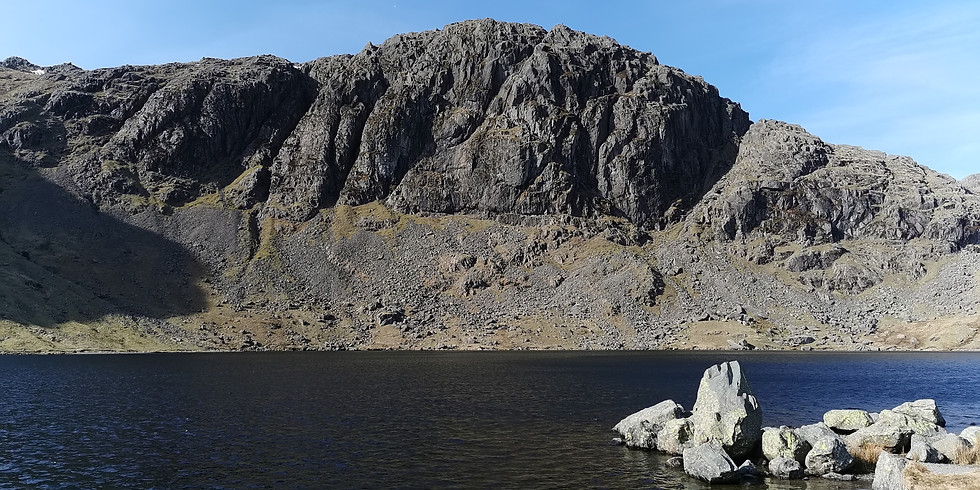 Langdale Pikes via stickle ghyll