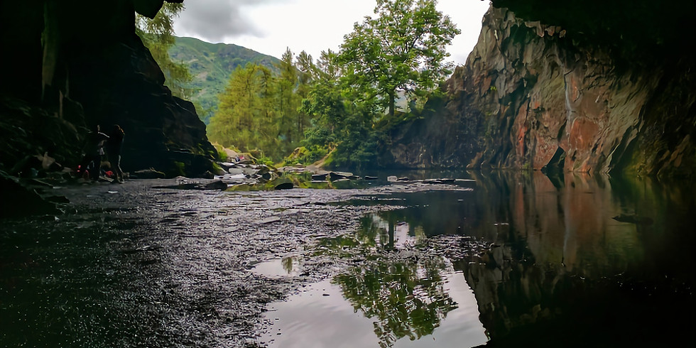 Rydal caves and Grasmere