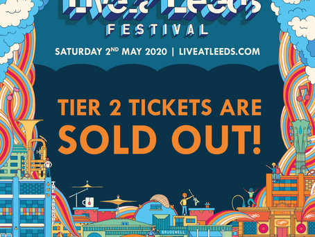 Tier 2 Tickets Now Sold Out!