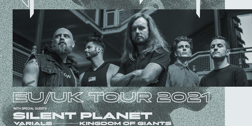 Fit for a King + Silent Planet, Varials, Kingdom of Giants