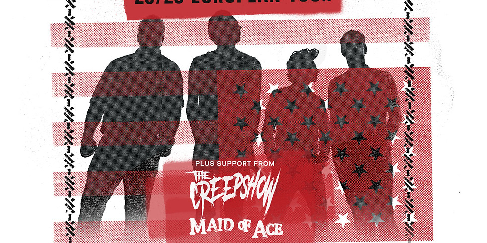 Anti Flag + The Creepshow & Maid of Ace - SOLD OUT