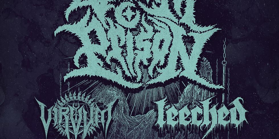Venom Prison + Virvum and Leeched