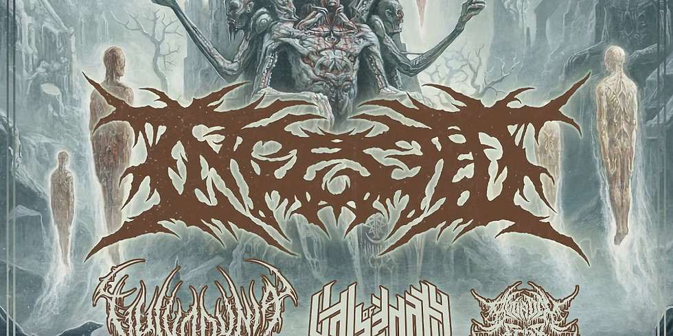 Ingested + Vulvodynia, Vale of Pnath & Bound In Fear