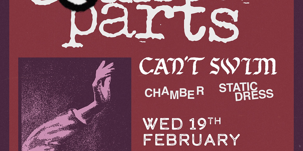 COUNTERPARTS + Can't Swim, Chamber, Static Dress