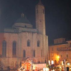 Veduta del palco Nerkias in piazza del P