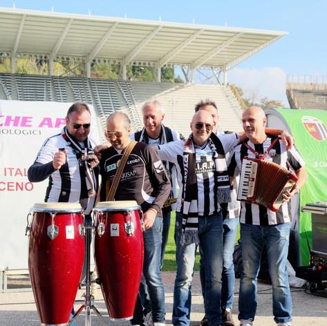 I Nerkias allo stadio Del Duca per i 120
