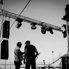 Petò e Luk sul_palco si confrontano... n