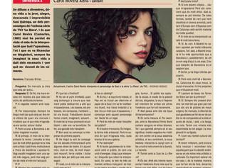 Entrevista en el diario L'EBRE
