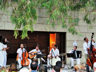 Concierto de Barcelona Ethnic Band