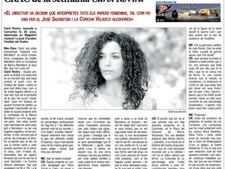"""Entrevista en """"Més Ebre"""""""