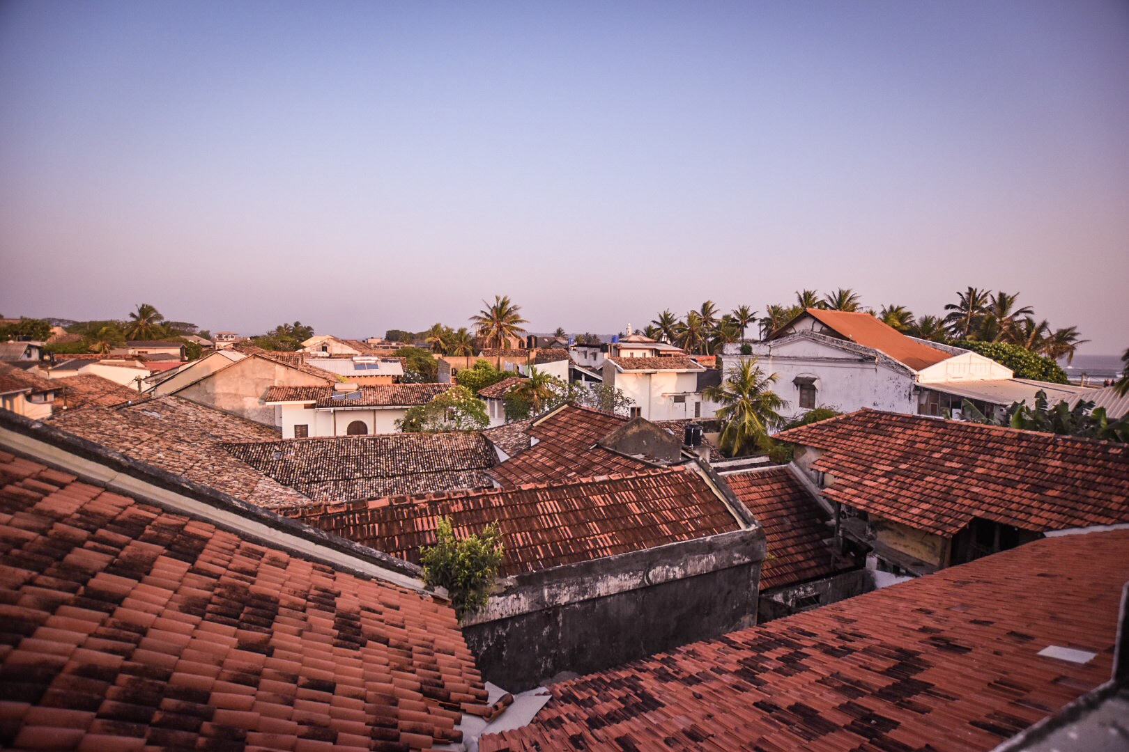 Galle Fort rooftops