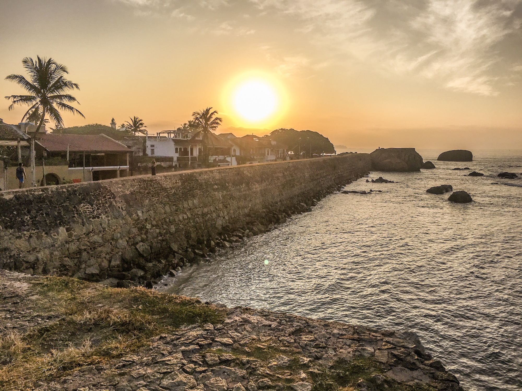 Sunrise over Galle Fort