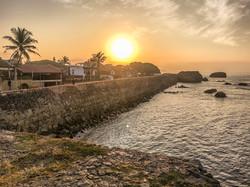 Sunrise over Galle Fort