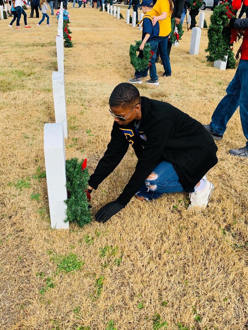 Soldier Volunteer Event