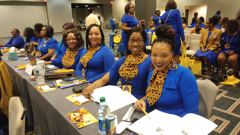 Sorors at SW Regional Conference